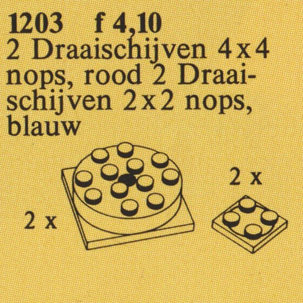 Turntables (4 x 4), Turntables (2 x 2)