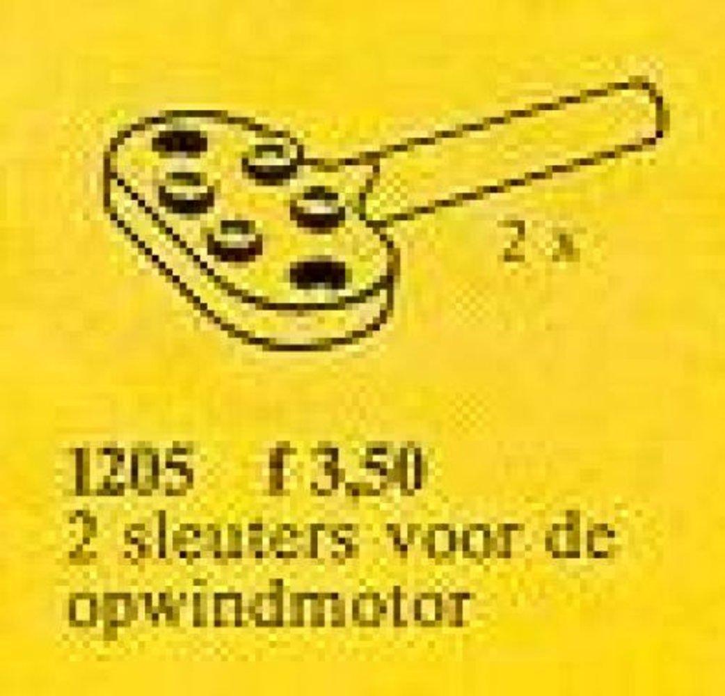 Keys for Wind-Up Motor