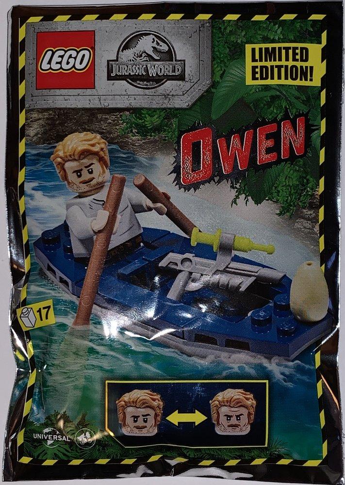 Owen with Canoe