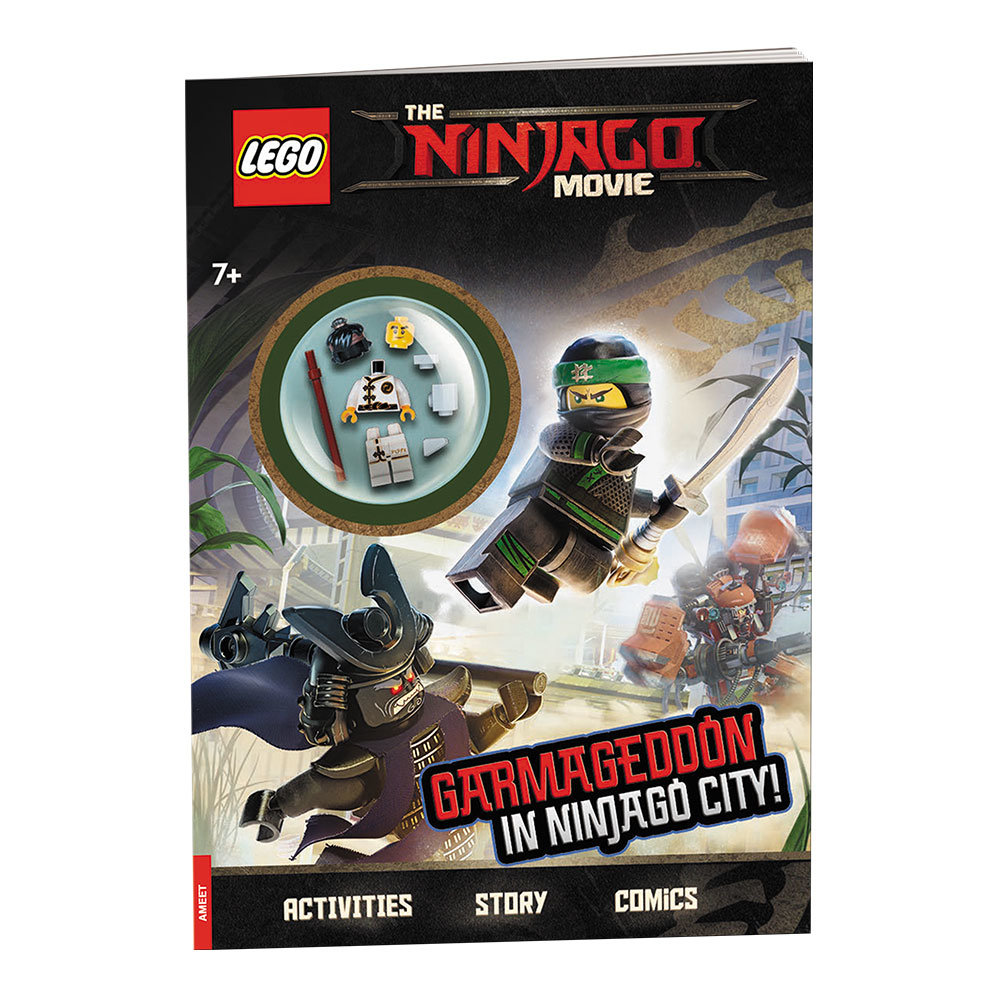 The Lego Ninjago Movie: Garmageddon in Ninjago City!