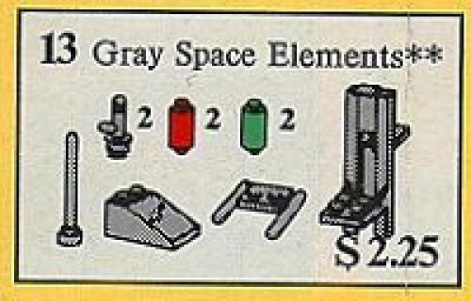 Gray Space Elements