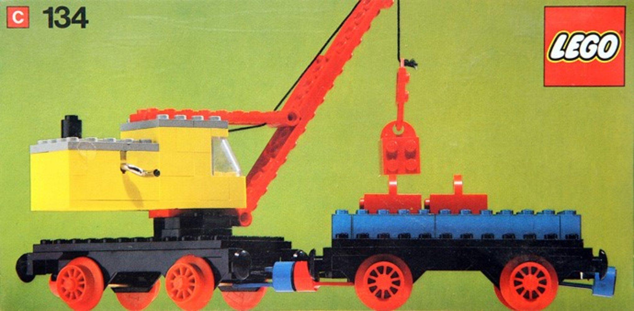 Mobile Crane and Wagon