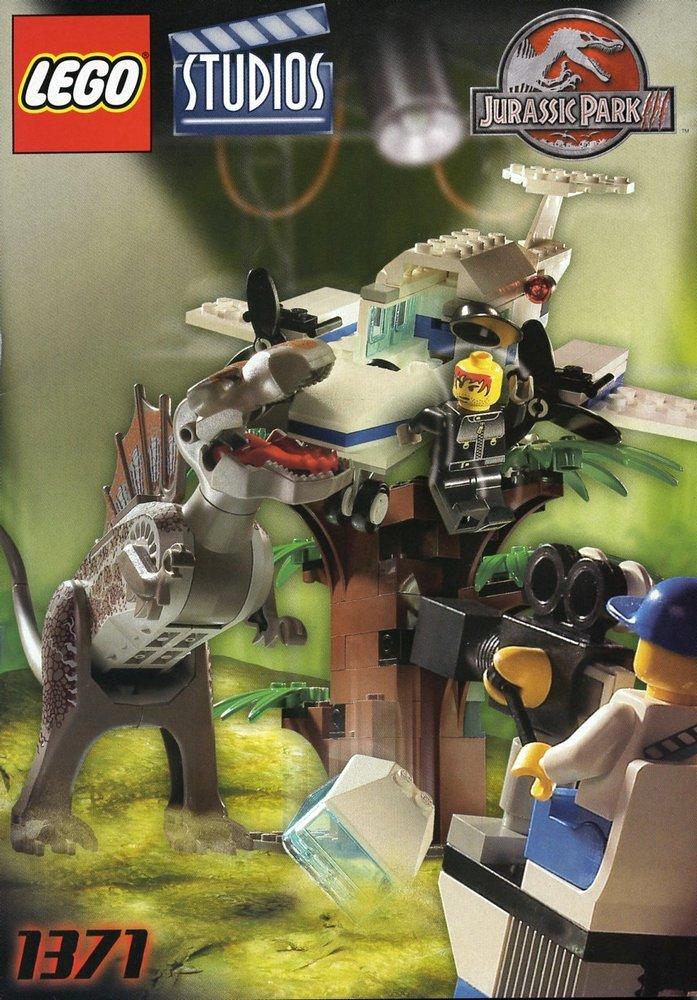 Spinosaurus Attack Studio