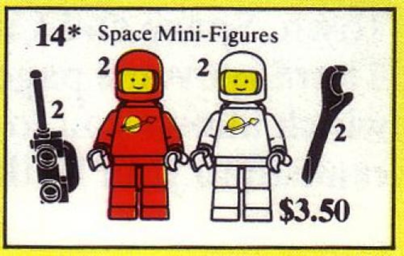 Space Mini Figures