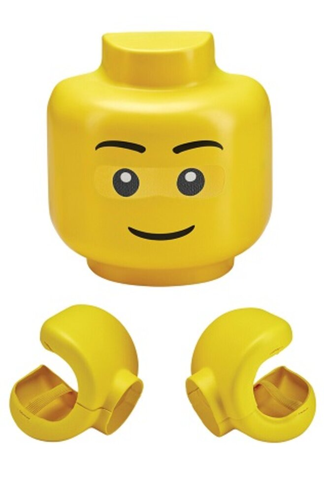 Minifigure Mask with Hands