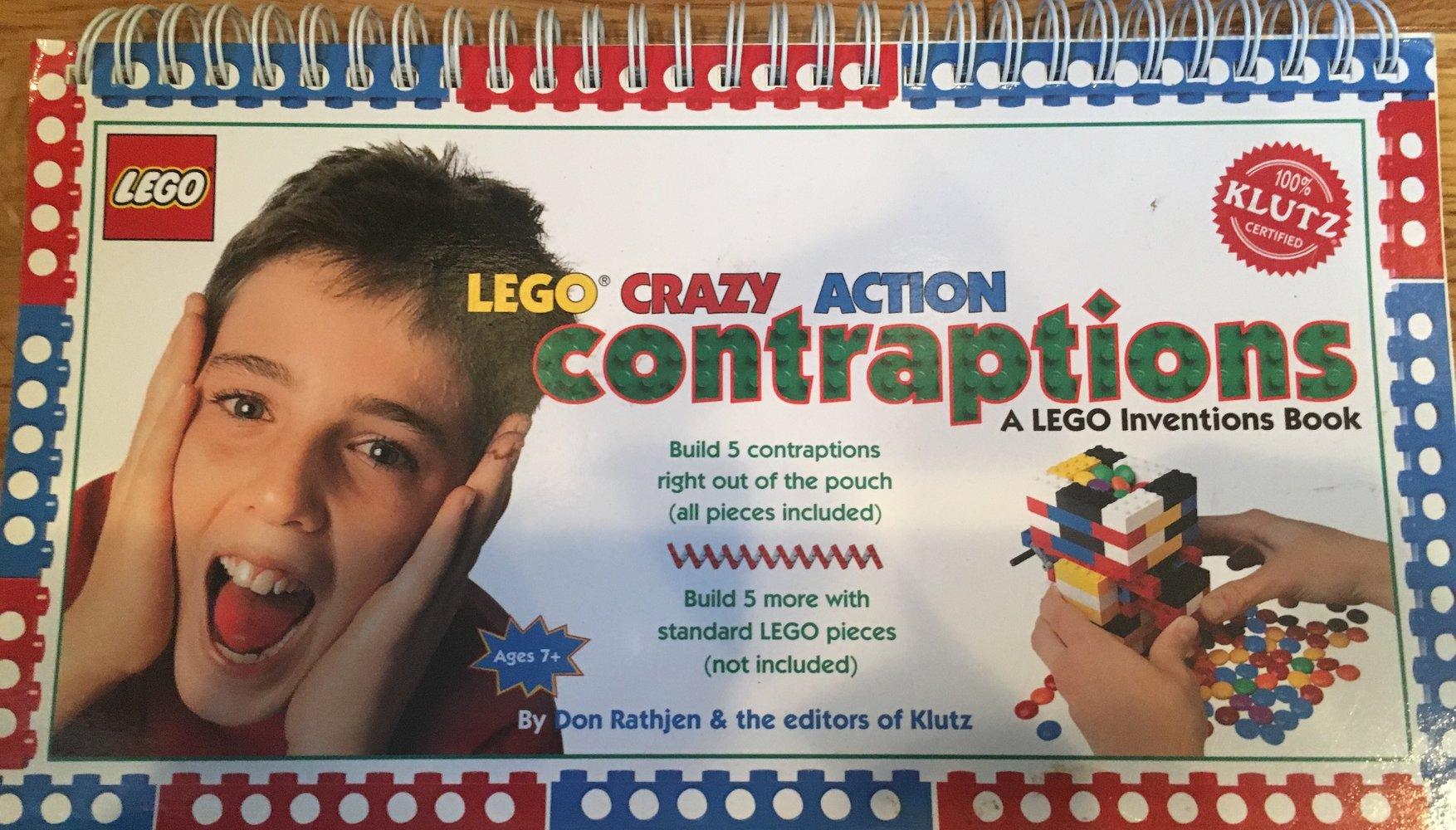 Crazy Action Contraptions: A LEGO Inventions Book