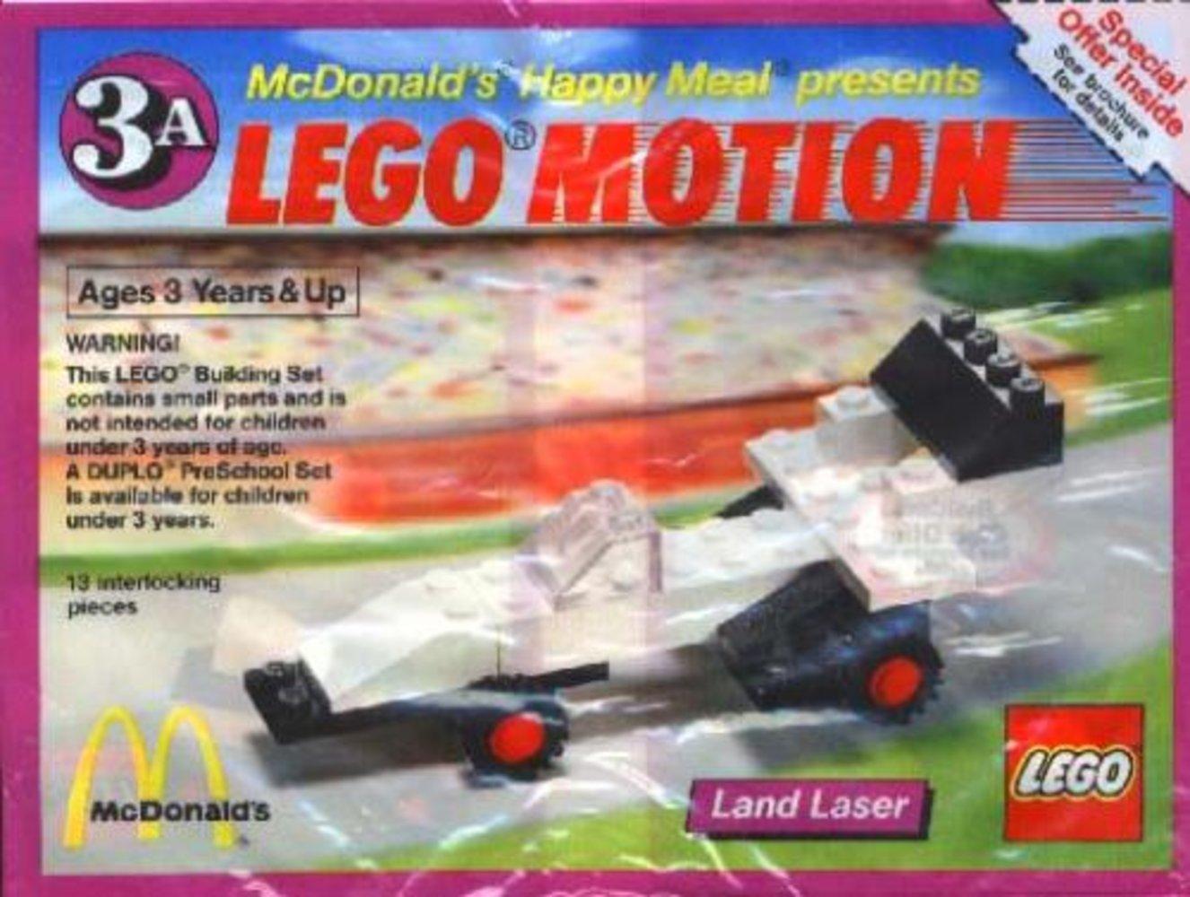 Lego Motion 3A, Land Laser
