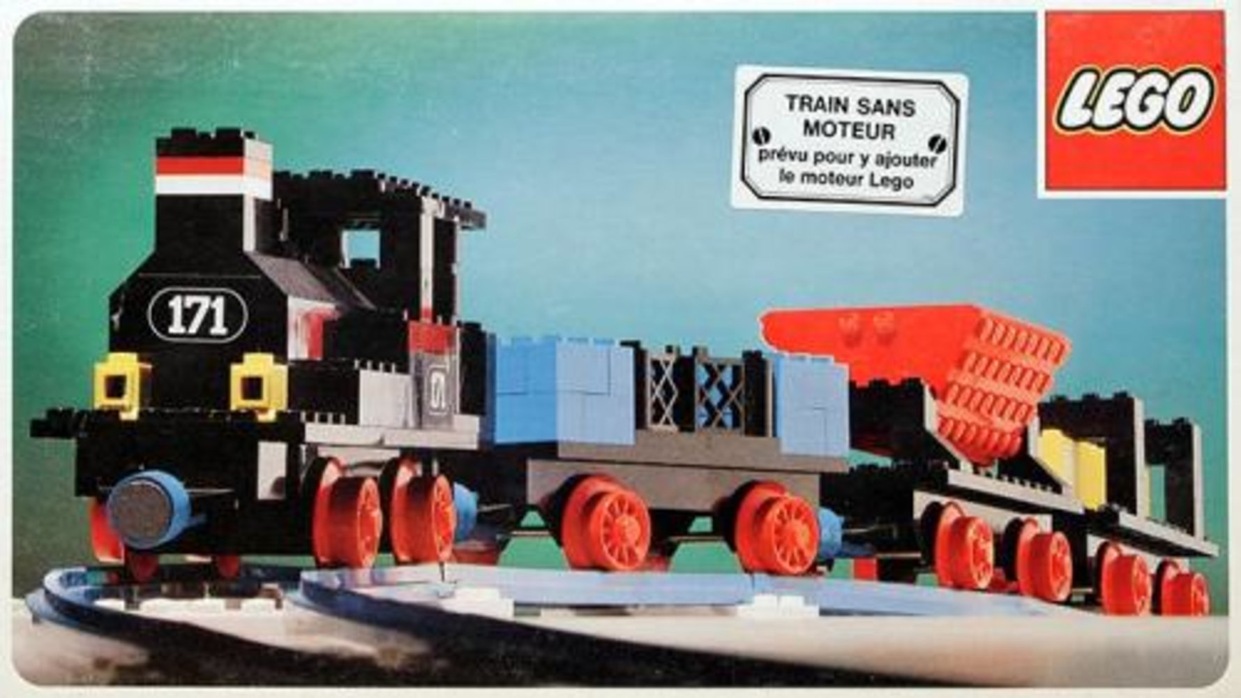 Complete Train Set Without Motor
