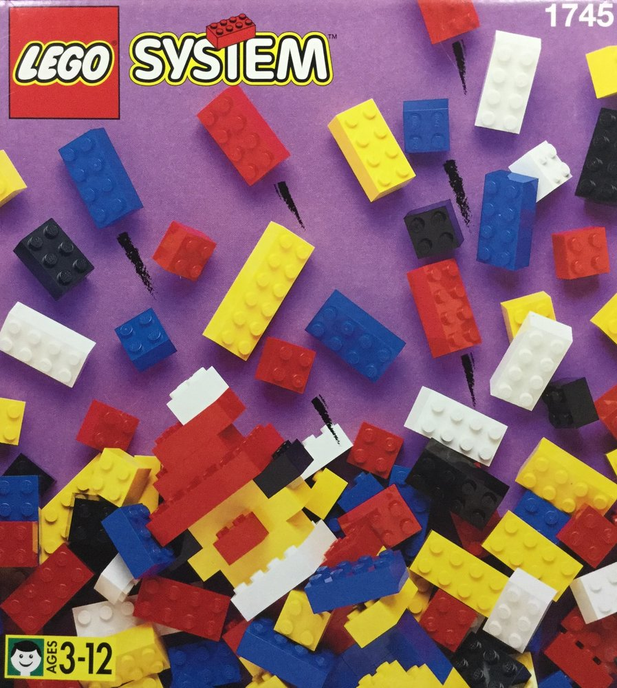 Box of Standard Bricks, 3+