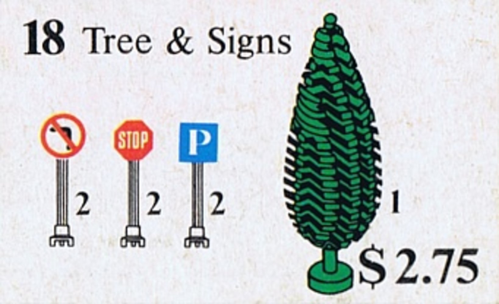 Tree and Signs