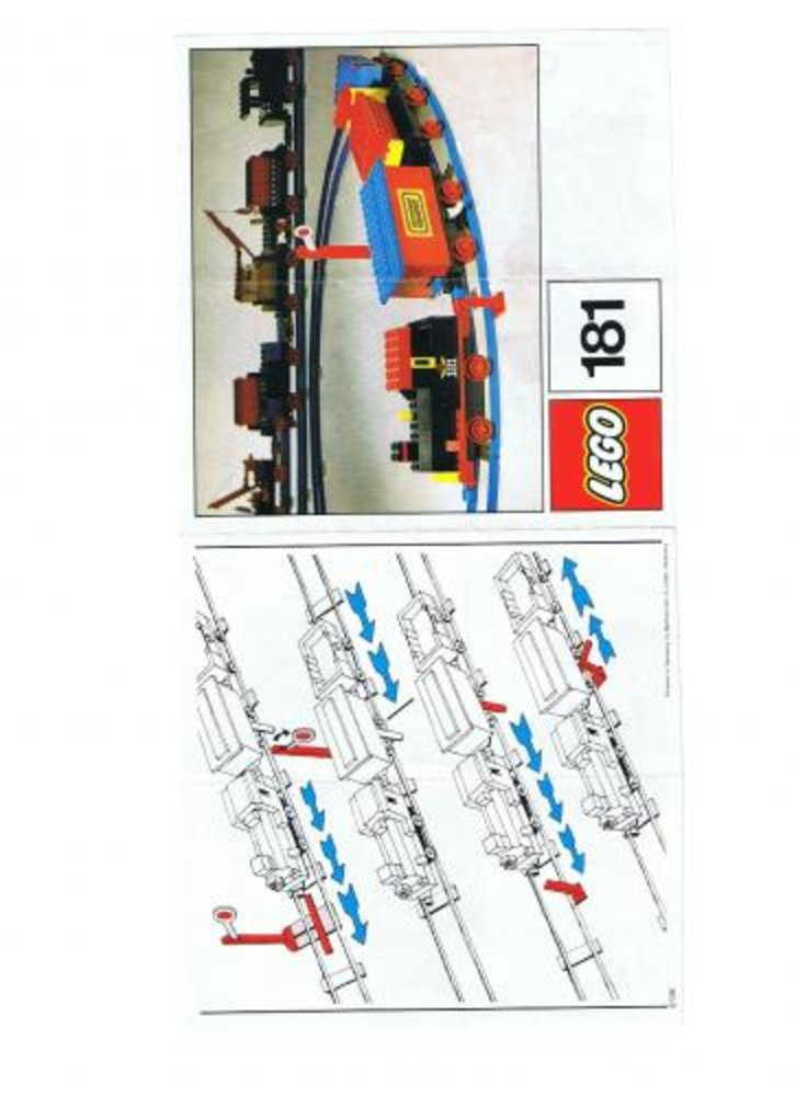 Complete Train Set with Motor, Signals and Switch