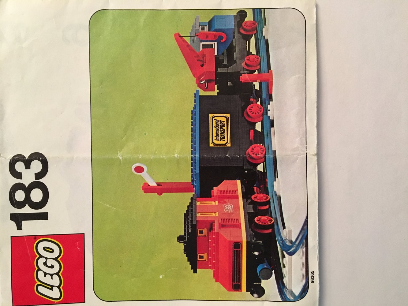 Complete Train Set with Motor and Signal