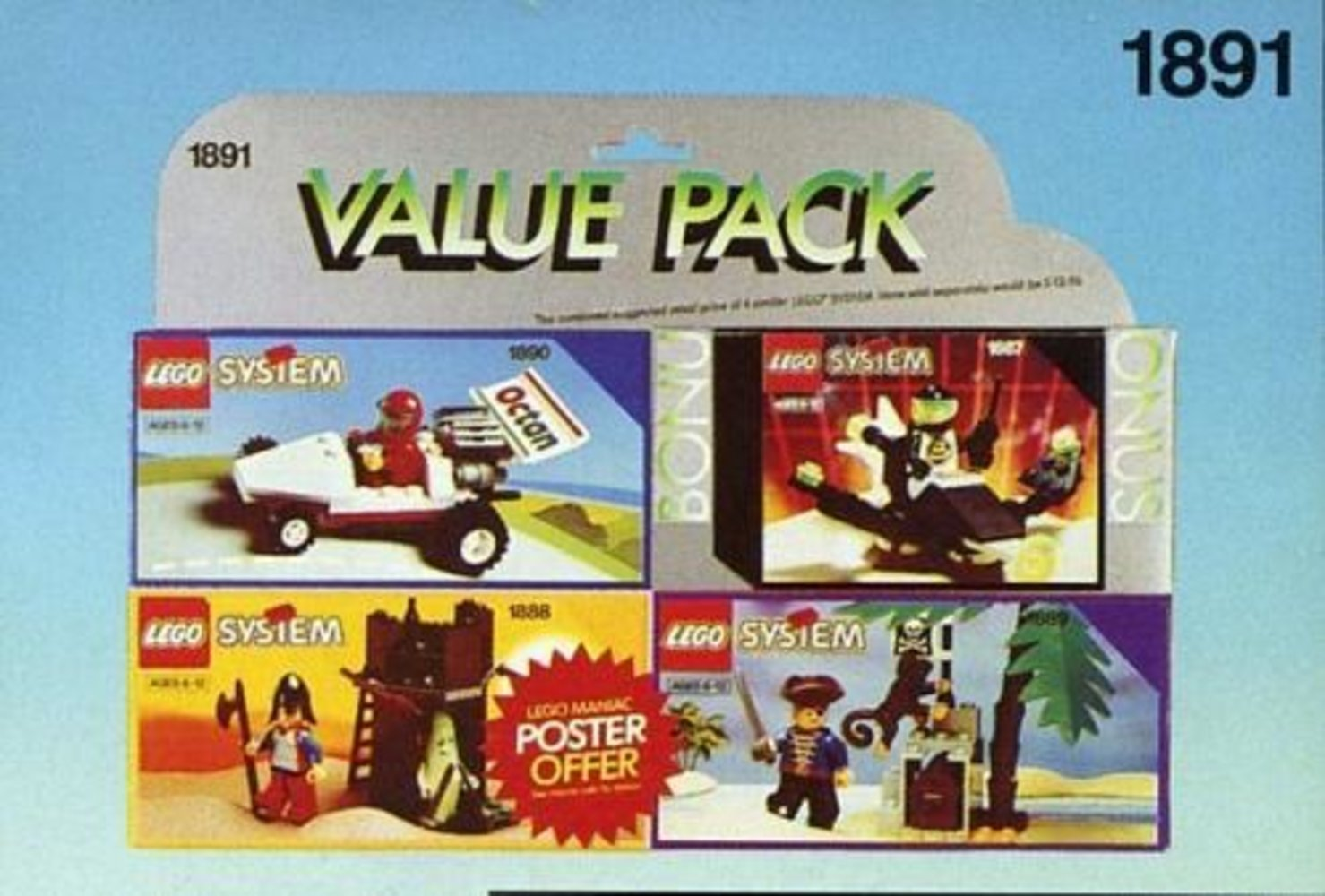 Four Set Value Pack