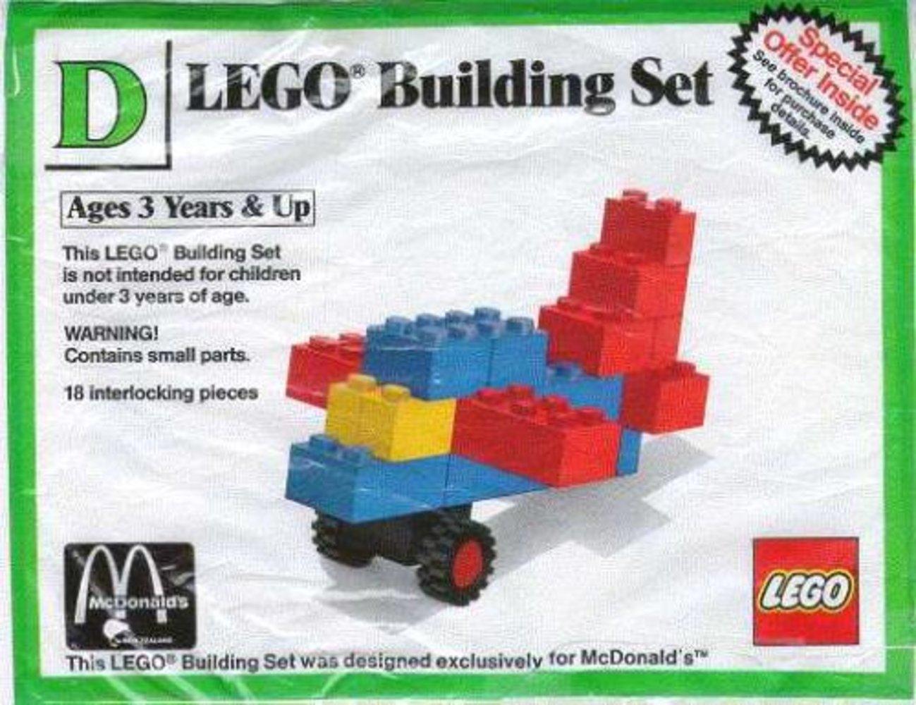 Building Set D: Aircraft