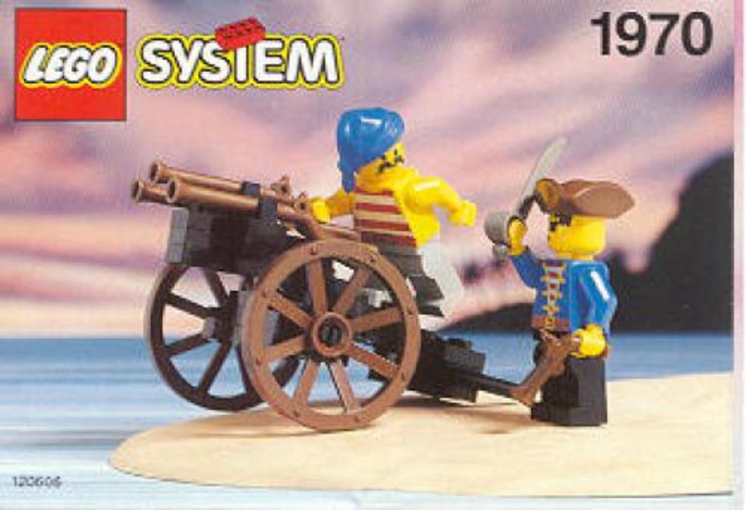Pirate's Gun Cart