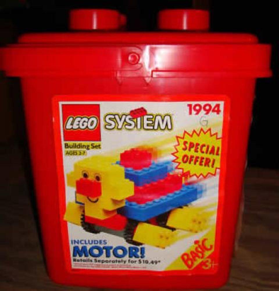 Turtle Bucket with Motor