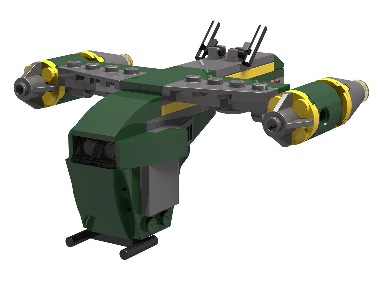 Bounty Hunter Gunship - Mini