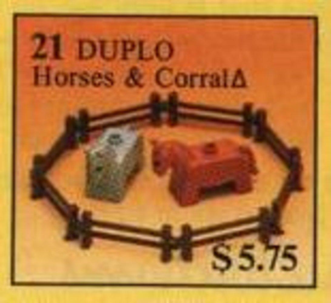 Horses & Corral