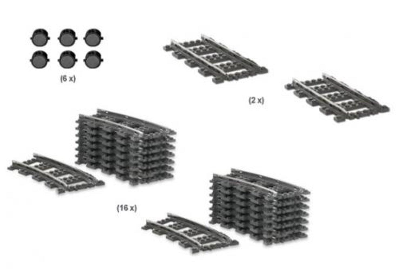 9V Train Track Starter Collection