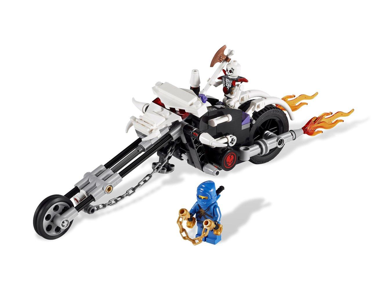Skull Motorbike
