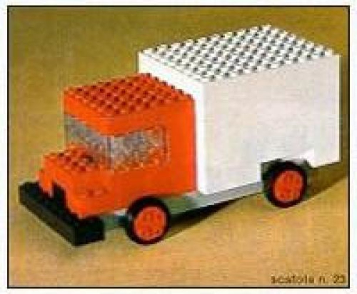 Delivery Truck Set