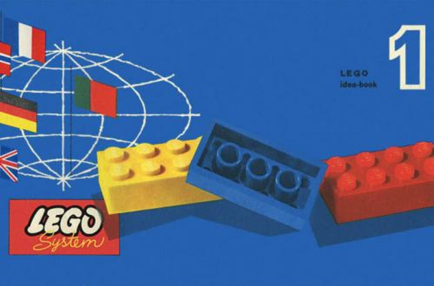 Lego System Idea Book (by Samsonite)