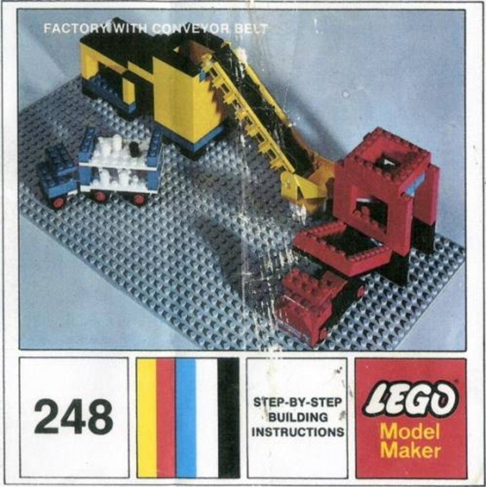 Factory With Conveyor Belt
