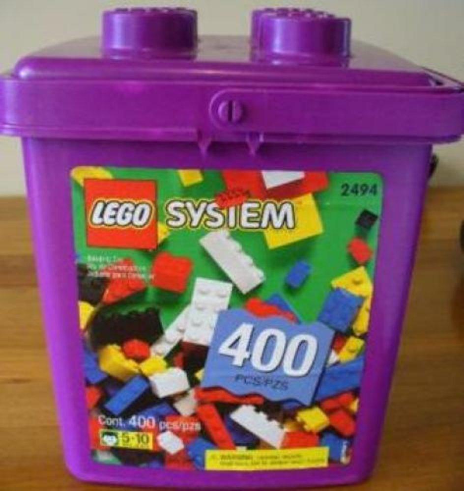 400-Piece Purple Bucket