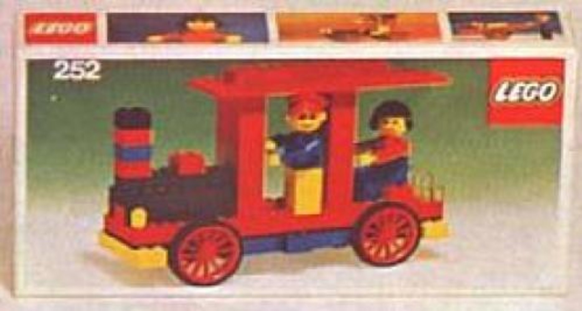 Locomotive with Driver & Passenger