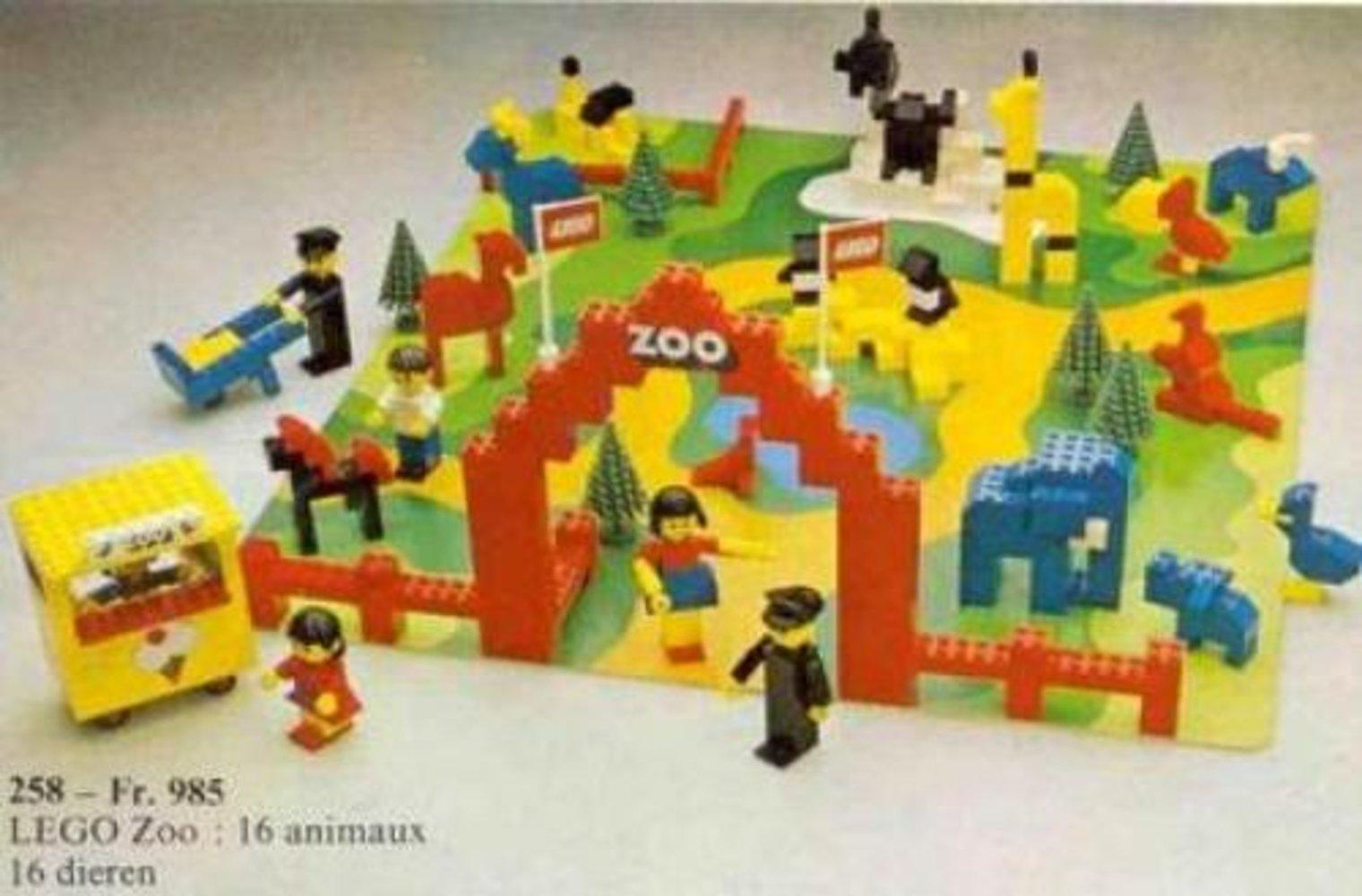 Zoo with Baseboard