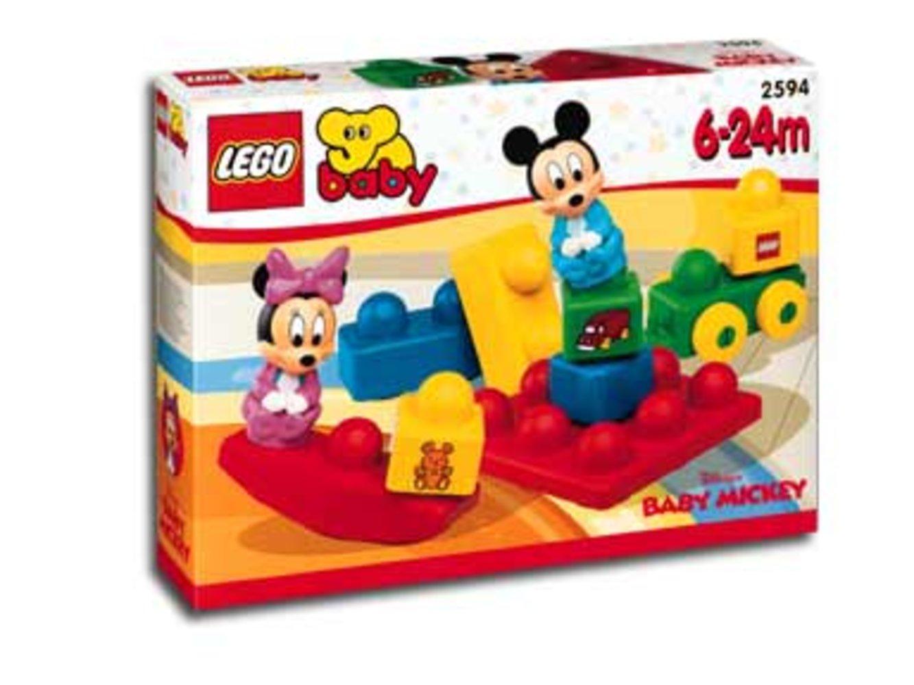 Baby Mickey and Baby Minnie Playground