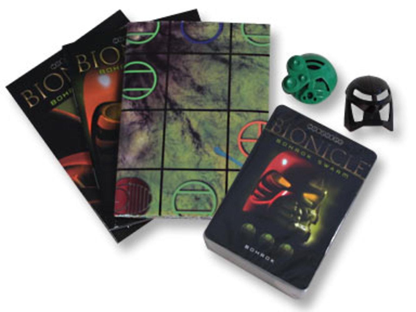 Bohrok Swarm Trading Game: Green Pack