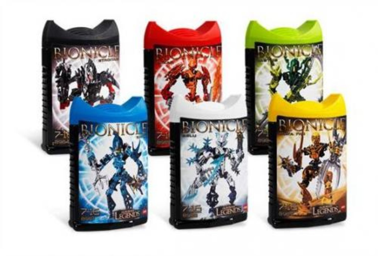 Bionicle Glatorian Legends Collection