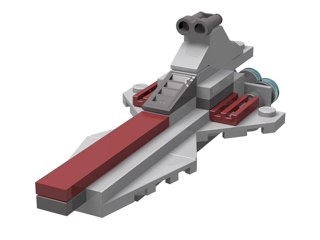 Republic Attack Cruiser - Mini