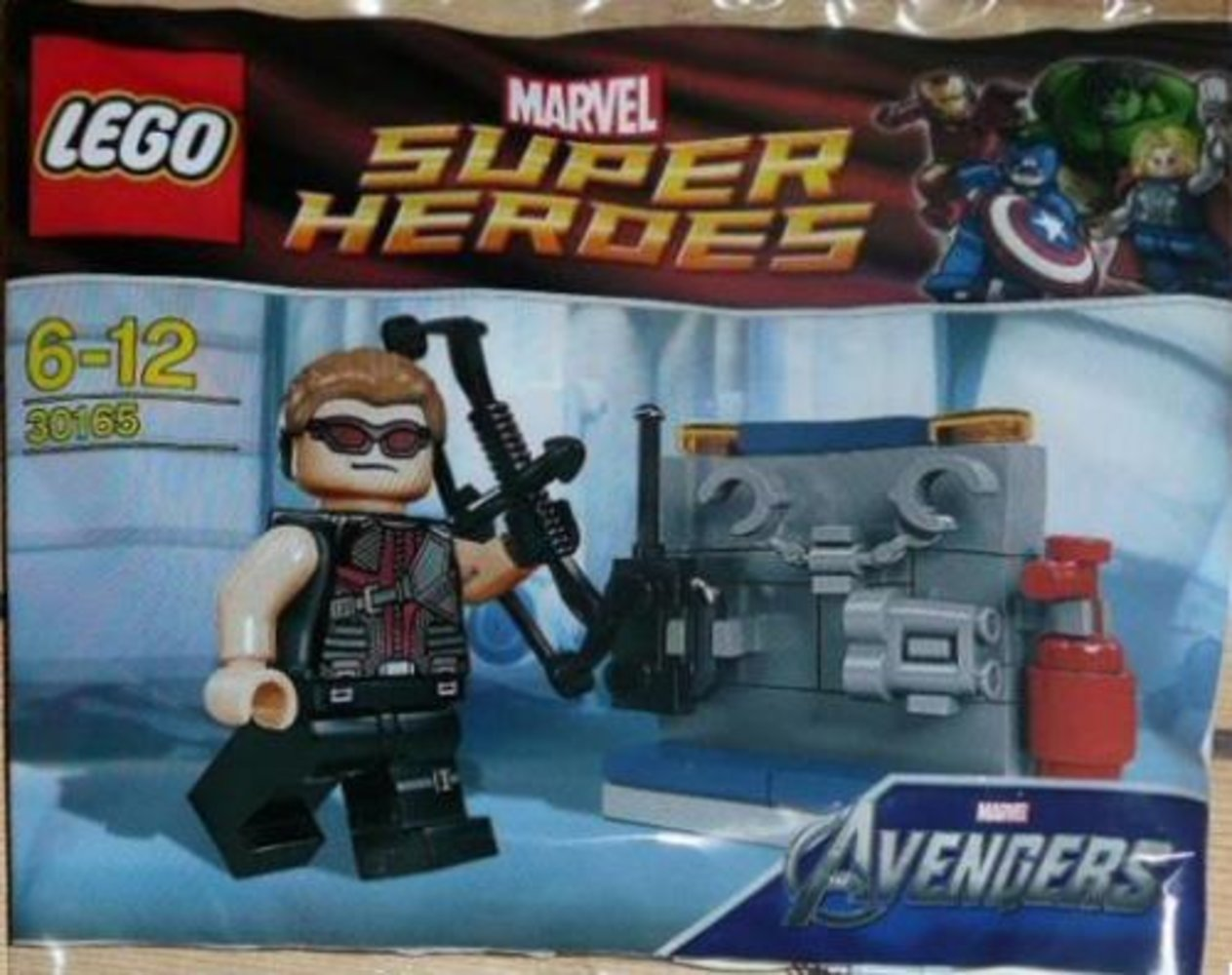 Hawkeye with Equipment