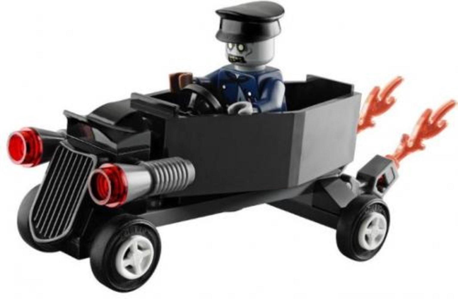 Zombie Chauffeur Coffin Car