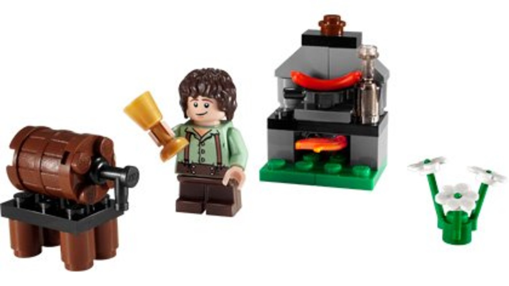 Frodo with Cooking Corner