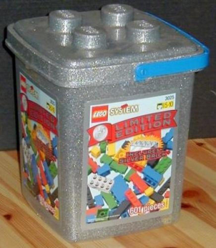 25th Anniversary Silver Bucket