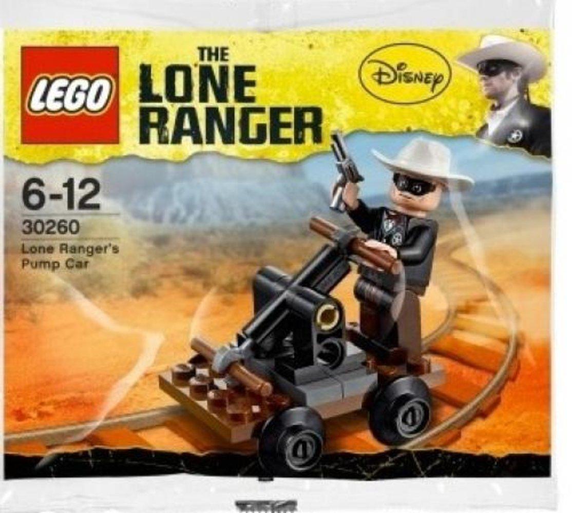 Lone Ranger's Pump Car