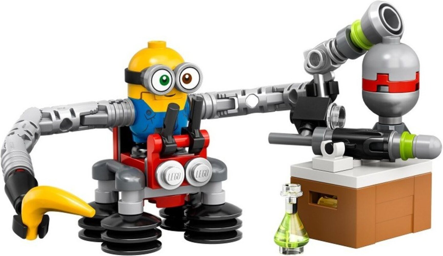 Bob Minion with Robot Arms