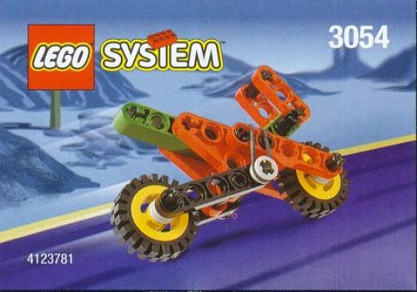 Kelloggs Promotional Set: TECHNIC Motorcycle