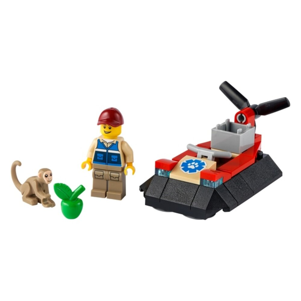 Wildlife Rescue Hovercraft