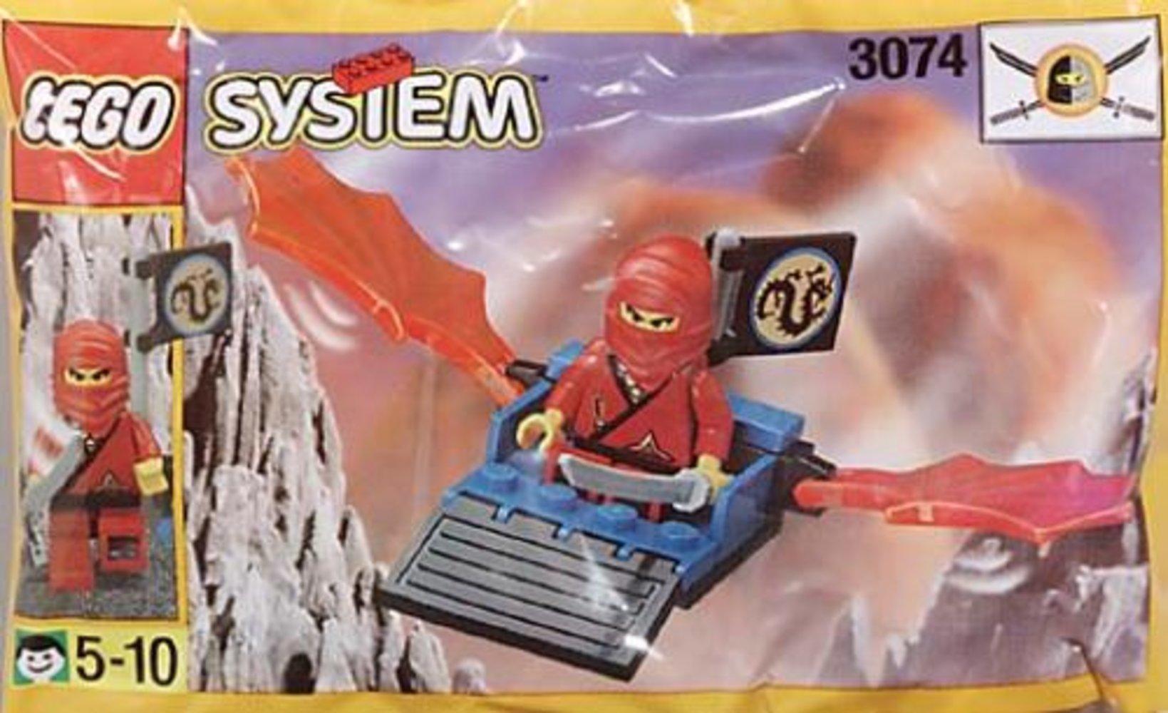 Red Ninja's Dragon Glider