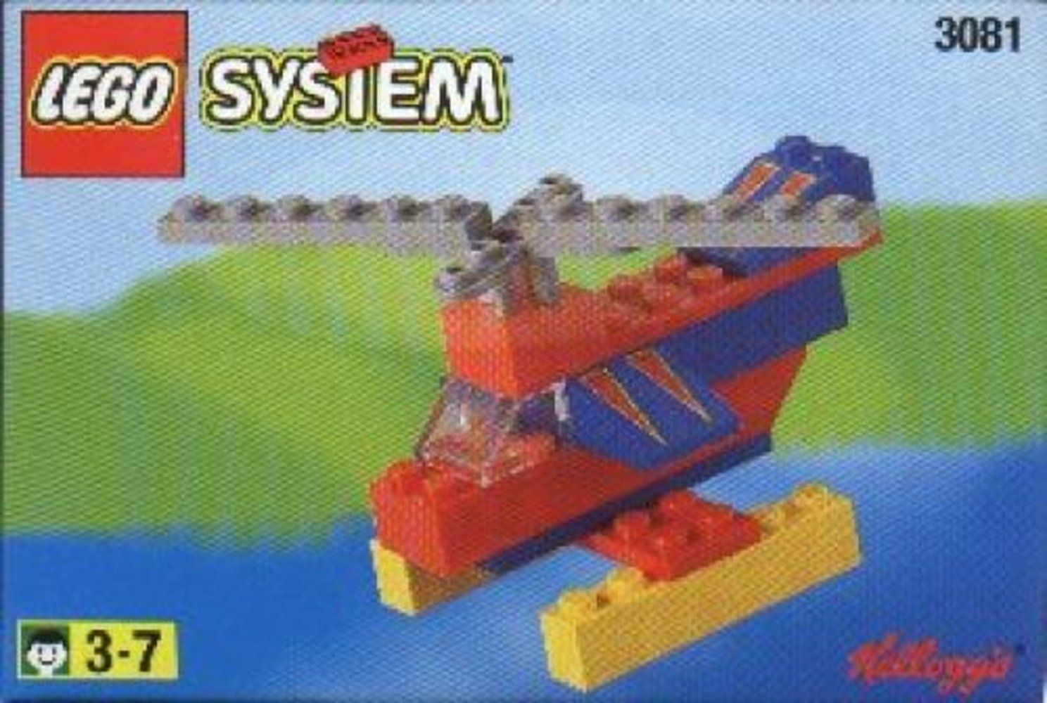 Kellogg's Promotional Set: Helicopter