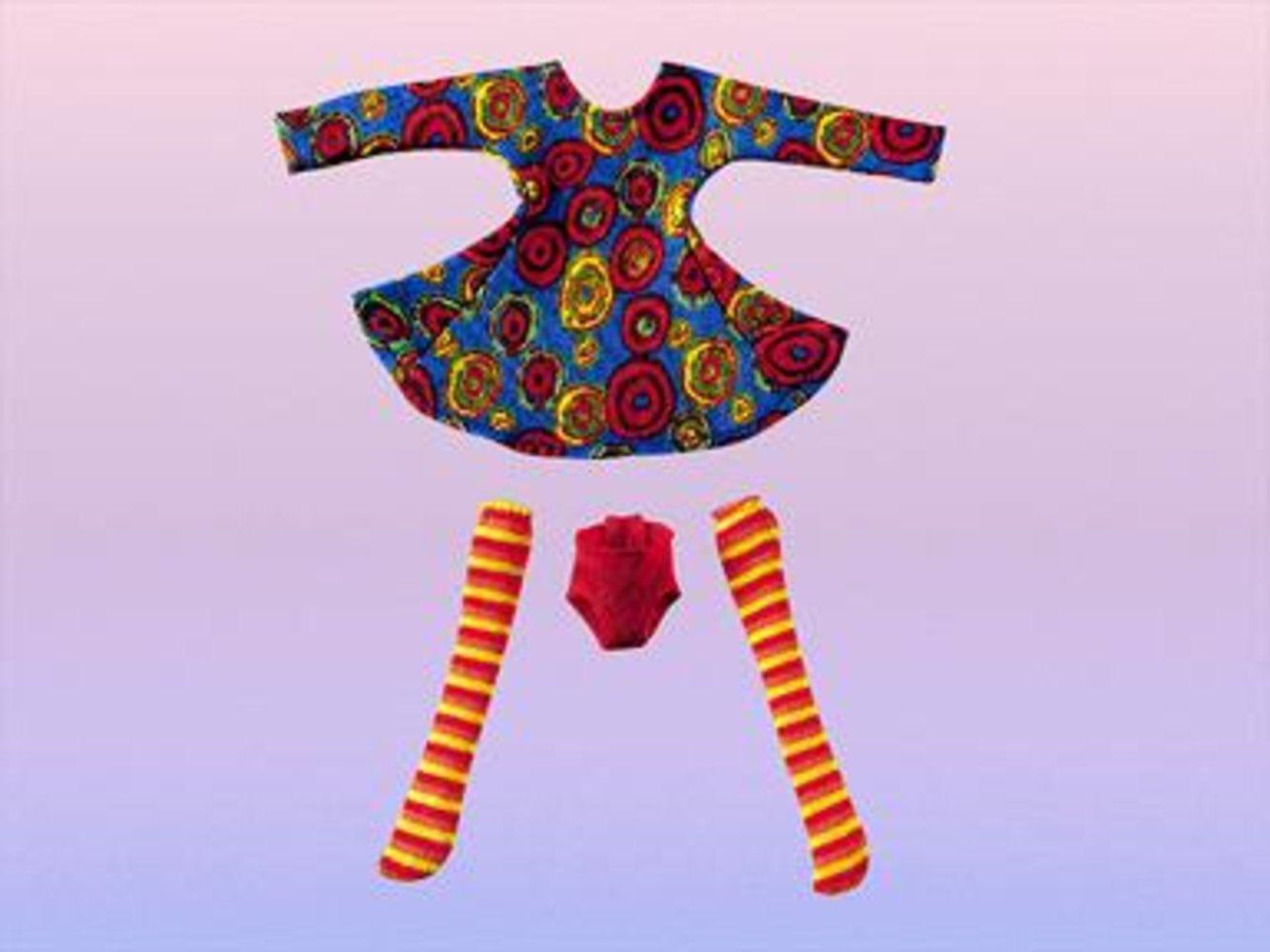 Dancing Circle Dress for Girls
