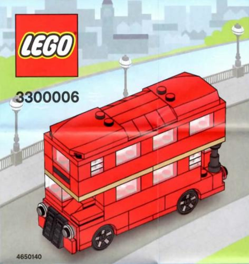 The Routemaster Bus (LEGO Store Grand Opening Set, Westfield, London, UK)