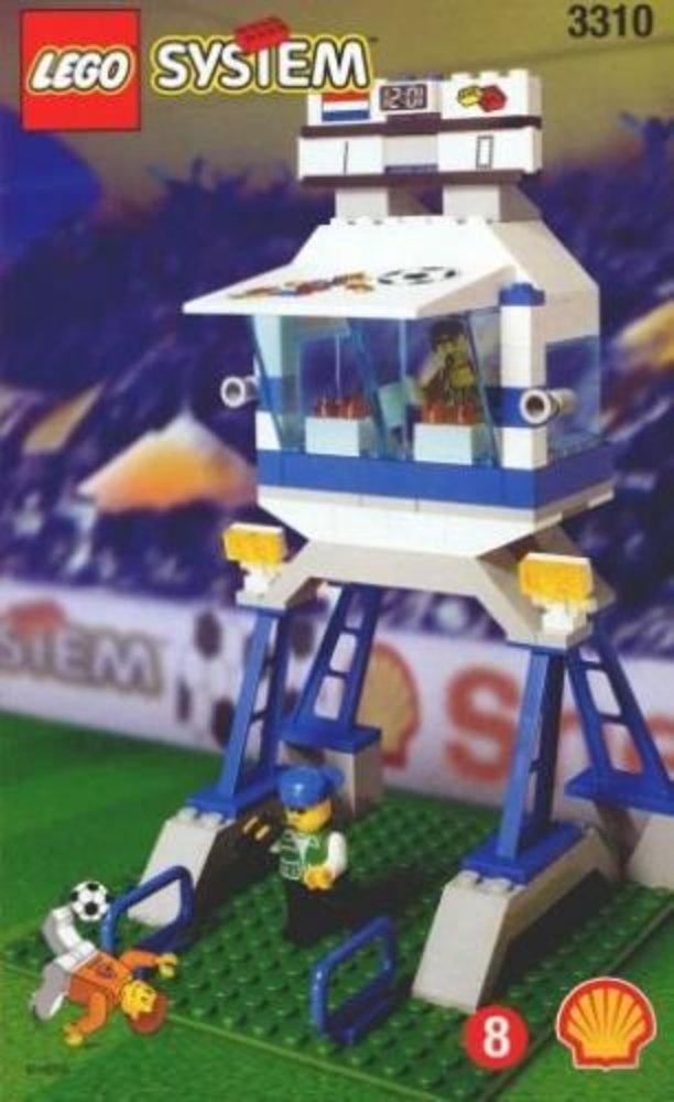 Commentator and Press Box