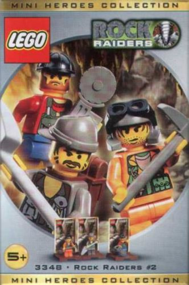 Mini Heroes Collection: Rock Raiders #2
