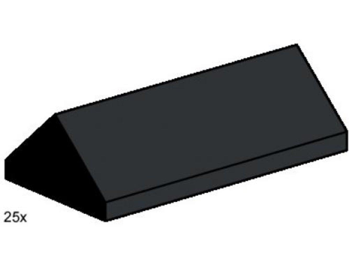 2 x 4 Ridge Roof Tiles Steep Sloped Black
