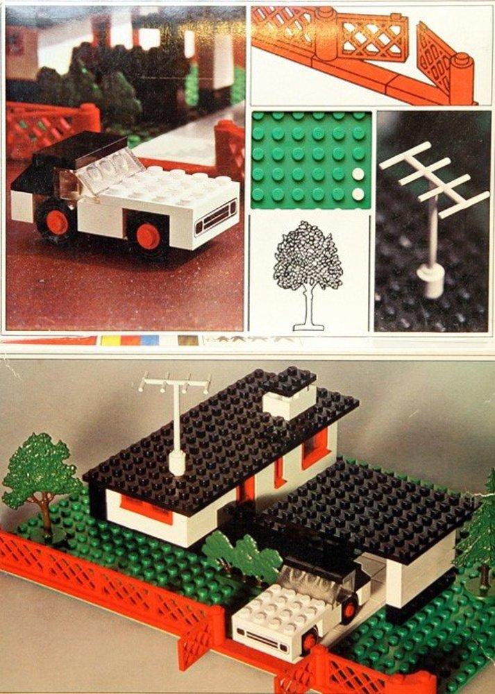 House with Mini-Wheel Car